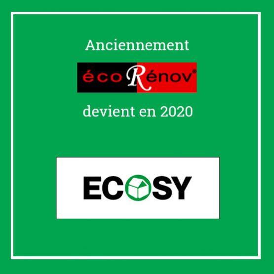 Ecorenov devient Ecosy